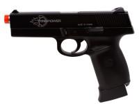 Air Venturi Firepower .40 CO2 Airsoft Pistol, Black Airsoft gun