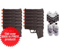 Smith &  Wesson Smith & Wesson M&P 9C, 12 Pistol Package Airsoft gun