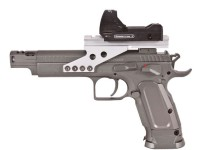 KWC Tanfoglio Gold Custom CO2 Pistol & Dot Sight Air gun