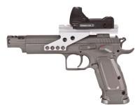 KWC Tanfoglio Gold Custom CO2 Pistol & Dot Sight Air gun