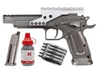 KWC Tanfoglio Gold Custom CO2 CO2 Metal Pistol Kit Air gun
