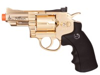 Dan Wesson CO2 Airsoft Revolver, Gold, 2.5 inch Airsoft gun