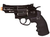 Dan Wesson CO2 Airsoft Revolver, Black, 2.5 Airsoft gun