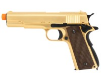 WE 1911 Metal GBB Airsoft Pistol, Gold Edition Airsoft gun