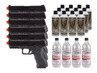 KWA ATP Adaptive Training Airsoft Pistol, 6 Pack
