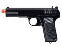 WE TT-33 Gas Blowback Metal Airsoft Pistol, Black Airsoft gun