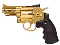 Dan Wesson CO2 BB Revolver, Gold, 2.5 inch Air gun