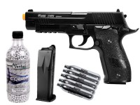 SIG Sauer P226 X-FIVE CO2 Metal Airsoft Pistol Kit Airsoft gun