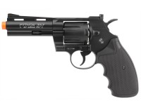 Colt Python .357 Metal CO2 Airsoft Revolver, 4 inch, Black Airsoft gun