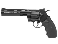 Swiss Arms .357 Metal CO2 BB Revolver, 6 inch Air gun