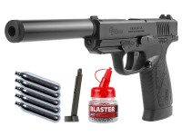 Bersa BP9CC CO2 Blowback BB Pistol Kit, Black