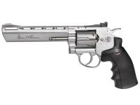 Dan Wesson 6 inch CO2 Pellet Revolver, Silver Air gun