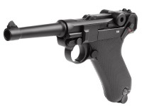 KWC Umarex Legends Blowback P08 CO2 Pistol, Full Metal Air gun