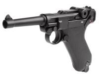 KWC Umarex Legends Blowback P08 CO2 Pistol, Full Metal Air gun