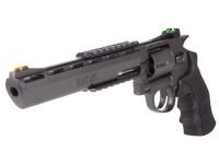 "Black Ops Exterminator Metal .177 8"" Revolver, Black"