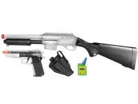 Smith &  Wesson Smith & Wesson Airsoft Shotgun Kit, Clear  Airsoft gun
