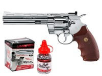 Colt Python CO2 Revolver Kit, Chrome Air gun