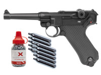 Legends Blowback P08 CO2 Pistol Kit, Full Metal