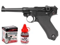 Legends Blowback P08 CO2 Pistol Kit, Full Metal Air gun