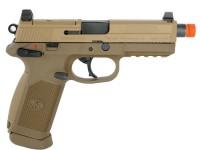 FN Herstal FNX-45 Airsoft Gas Blowback, Tan Airsoft gun