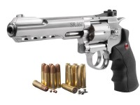 Crosman SR.357S Dual Ammo CO2 Revolver Kit, Silver