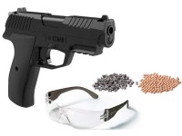 Crosman Iceman CO2 BB and Pellet Pistol Kit Air gun