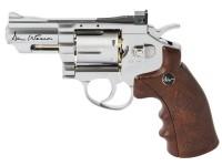 Dan Wesson CO2 BB Revolver Kit, Silver, 2.5 inch Air gun
