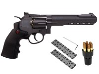 Crosman SR.357 CO2 Revolver Kit, Black Air gun