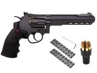 Crosman SR.357 CO2 Revolver Kit, Black Air gun