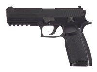 SIG Sauer P250 CO2 Pistol, Metal Slide, Black Air gun