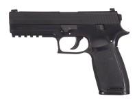 SIG Sauer P250 CO2 Pistol, Metal Slide, Black Air gun