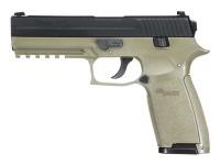 SIG Sauer P250 CO2 Pistol, Metal Slide, OD Green Air gun