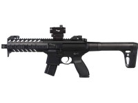SIG Sauer MPX CO2 Rifle, Dot Sight, Black Air rifle