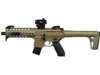 SIG Sauer MPX CO2 Gun, Dot Sight, Flat Dark Earth