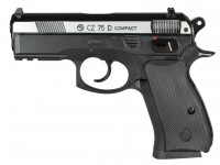 CZ 75D Compact CO2 BB Pistol, Dual-Tone Air gun