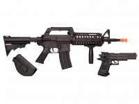 Crosman Elite Front Line Force Airsoft Kit, Black Airsoft gun
