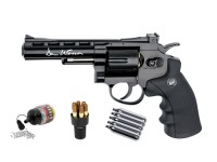 Dan Wesson 4 inch CO2 BB Revolver Kit, Black Air gun