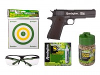 Remington 1911 RAC CO2 BB Pistol Kit