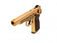 Gletcher Stechkin APS Gold Blowback CO2 BB Pistol Air gun