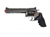 "Dan Wesson 715 6"" CO2 Airsoft Revolver, Steel Grey"