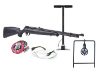 Benjamin Maximus Entry Level Air Rifle Kit, Black Air rifle