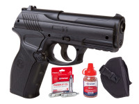 Crosman C11 Semi-Auto Air Pistol CO2 BB Kit