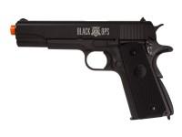 Black Ops 1911 CO2 Airsoft Pistol, Full Metal Airsoft gun