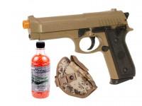 Cybergun M92 Desert Warrior Airsoft Pistol Kit Airsoft gun