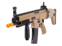 Swiss Arms FN Herstal SCAR-L Spring Airsoft Rifle, Tan Air rifle