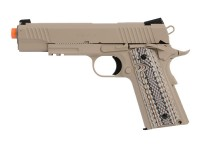 Colt Government 1911 Airsoft GBB Pistol, Desert Tan