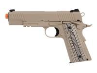 Cybergun Colt Government 1911 Airsoft GBB Pistol, Desert Tan Airsoft gun