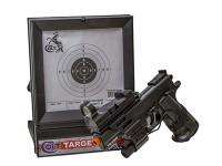 Cybergun Colt MK IV Spring Airsoft Pistol Kit Air rifle