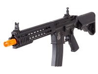 Cybergun Colt M4A1 Short Keymod Full Metal AEG Rifle, Black Airsoft gun