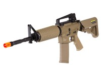 KWA KM4A1 FDE Metal Carbine, AEG Airsoft Rifle Airsoft gun